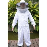 Quality High Quality Cotton and Terylene Beekeeping Protective Clothing with Round Bee Hat for sale