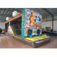Quality The Stone Age Closed Inflatable Jumping House,Hot sale Inflatable Animals Bouncer for sale