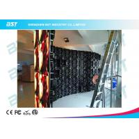 Quality Indoor Rental LED video Display Performance 500mm X 500mm inner and outer arc for sale