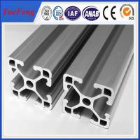 Quality 6063 t5 aluminium extrusion for assembly line t slot supplier,aluminum industrial profiles for sale