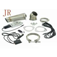 Quality 3 Inch Sliver Valve Controlled Exhaust Systems Exhaust Cutout Kit Easy Operation for sale