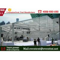 Quality New Design 30m Width Clear Span aluminum Buildings With Glass Wall 800 Sqm Area for sale