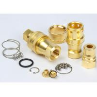 Precision Machining Hydraulic Quick Connect Couplings KZD For Equipment Maintenance