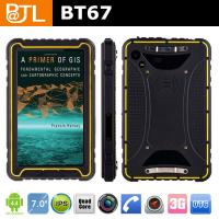 Quality BATL BT67 IP67 Waterproof Support GPS+Glonass 3G durable tablet with NFC for sale
