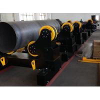Quality 60 Ton Motorized Traveling Welding Turning Rolls For Pipe , Turning Speed 100~1000 mm/min for sale
