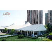 Buy cheap High peak large 30m glass tent for outdoor events and weddings from wholesalers