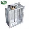 Ventilation System Galvanized Steel Air Volume Regulating Valve In Air Ducting for sale
