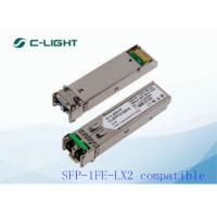 SFP-1FE-LX2 JUNIPER SFP Module LC Connector , Optical Transceiver Module for sale