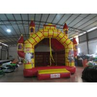 Quality Red inflatable castle jump Inflatable soldiers inflatable castle bouncer house princess castle jump for sale
