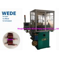 Quality Max 4mm Round Wire Coil Winding Machine With 3 Axis Servo Motor Flat Wire for sale