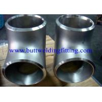 """Quality UNS S32750 UNS S32760 Stainless Steel Tube Tee 8"""" 12"""" SCH40S SCH80S ASME B16.9 for sale"""