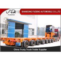 Quality 16 Axles 8 Line Hydraulic Modular Heavy Equipment Trailers Large Generator Transport for sale
