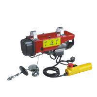 Quality Mini Electric Wire Rope Hoist With Moving Trolley from PA 250 to PA1200 for sale