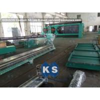 Quality Customized High Efficiency Gabion Box Machine With PLC 100 * 120mm Mesh Size for sale