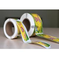 Quality Private Honey Oil Food Packaging Labels / Sticker Labels For Glass Jars Packaging for sale