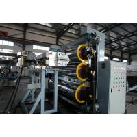 Quality High Efficiency Construction PE Pipe Machine Automatic Plastic Production Line for sale