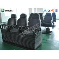 Quality Electric 5D Cinema Equipment With Black Motion Chair , Provide Accurate Motion Effect for sale