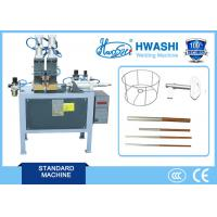 Quality 25mm Stroke Butt Welding Equipment , Round Iron Ring Automatic Butt Welder Hwashi for sale