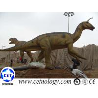 Realistic dinosaur animatronic ride with movement for park decoration for sale