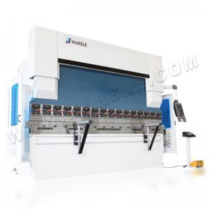 Quality DELEM DA52S Control System CNC Hydraulic Press Brake WE67K 100T 3200MM Galvanized Sheet Bending Machine for sale