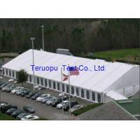 Quality Frame marquee clear span tent, aluminum frame pvc ridge tent waterproof for sale