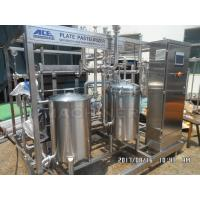 Quality Type 1000L Fruit Juice Continuous Plate Pasteurizer Sterilization Machine Plate UHT Sterilizer for sale