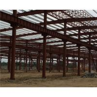 Quality Q235 / Q345 Pipe Truss Large Steel Building Workshop Durable Fabrication Steel Structures for sale