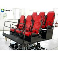 Quality Shopping Mall Mobile 7d Theaters 6 Seats Motion Chairs With Pneumatic System for sale