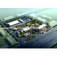Quality Damp Proofing Metal Steel Buildings , Peb Steel Buildings For Textile Factories for sale