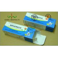 Quality Spot UV Coating Insulated Cardboard Packaging Boxes For Pharmaceutical / Medicine for sale