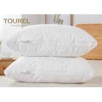 Quality Health Care Feather Fabric Filled  Highest Rated Bed Pillows For Hotel for sale