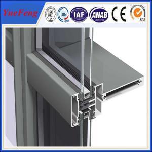 Buy Hot! aluminium wood grain profile, aluminum construction profile, aluminum wall at wholesale prices