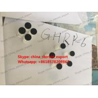 Quality Bodybuilding steroid hormone peptide GHRP-6 white powder for sale