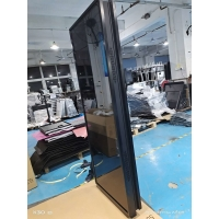 Quality 55 Inch Floor Standing Double Side LCD Screen Digital Totem Dual Display Digital Signage Media Player for sale