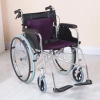 Quality Adjustable Lightweight Aluminum Wheelchair , Multi Color Easy to Carry for sale
