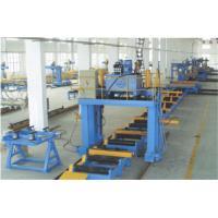China Box Beam Production Line U / Box Type Steel Beam Assembly Machine for sale