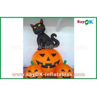 Quality Inflatable Holiday Decorations , Pumpkin Inflatable Cartoon Characters For Halloween for sale