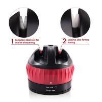 China Customize LOGO Suction Cup Knife Sharpener , Professional Knife Sharpener on sale