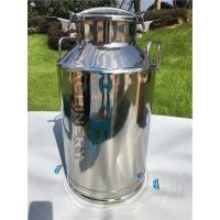 Quality 20L Aluminum milk cans /stainless steel milk transport cans Brand New Round Aluminium Milk Cans with Low Price for sale