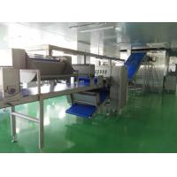 Quality Auto Freezing Croissant Production Line with 8 Noozles Depositor For Filled Croissant for sale