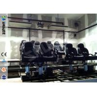 Buy 5D Durable Movie Cinema Motion Chair 2 Seats / set With Vibration / Jet And Shift at wholesale prices