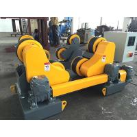 Quality HGZ-10 Self Aligning Welding Rotator 10 Ton Capacity With Foot Pedal Control for sale