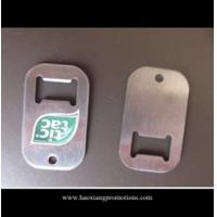 Quality Professional manufacturer supplier compact low price blank metal bottle opener tag for sale