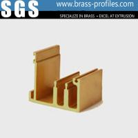 Buy cheap Customized Sizes Copper Frames Brass Extruded and Window Sections from wholesalers