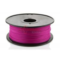 Quality Reprap UP PLA 1.75mm / 3.0mm 3D printing materials 3D filament Purple for sale