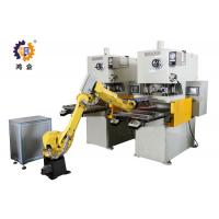 Quality PLC / MMI Control Hydraulic Punching Machine With Robot Manipulator for sale