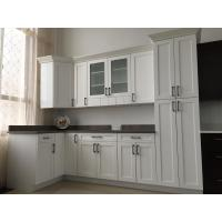 China High Gross White Particle Board Kitchen Cabinets For House Kitchen Decoration on sale