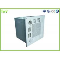 China Compact Design Furnace Air Filter Box , Air Conditioner Filter Box With Control Valve on sale