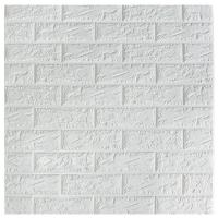 Classic Brick Design Self Adhesive Wall Panels / Decorative Foam Board Wall Panel for sale