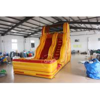 Quality QiQi inflatable water slide with pool for sale